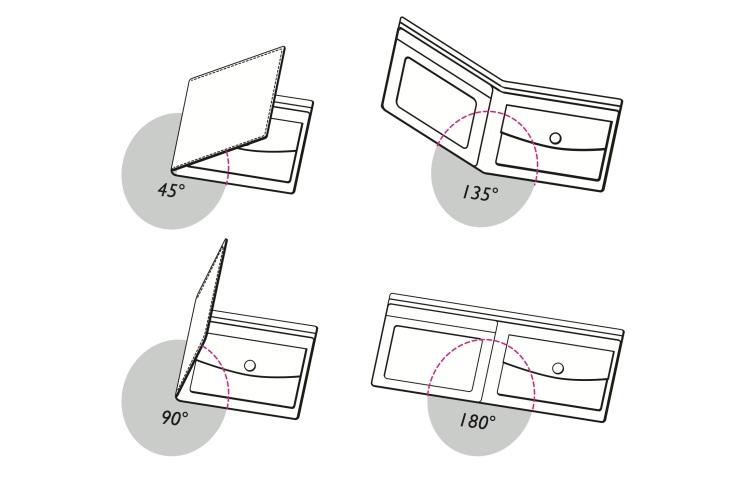 input gesture wallet