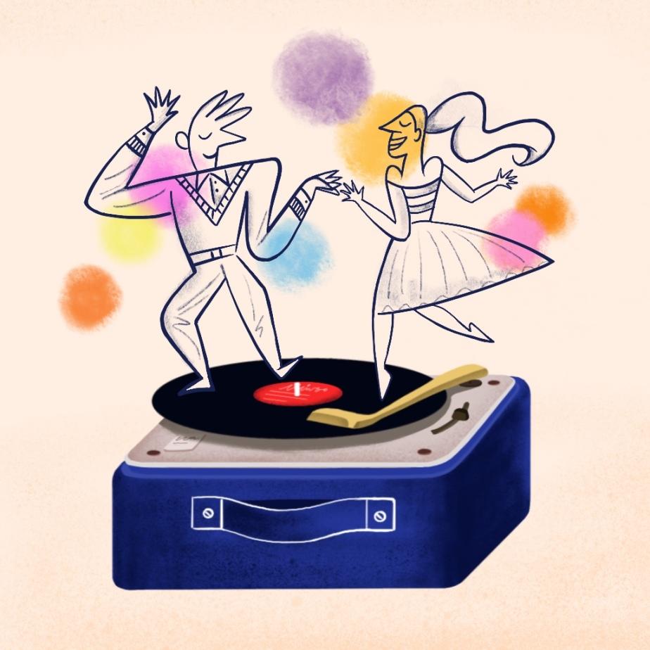 dancing on vinyl